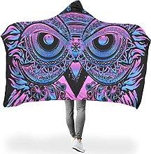Uicoomhill Oversized Owl Fantasy Hooded Luxury