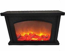 UIGJIOG Fake Fireplace - Home Ledfaux Fireplace,