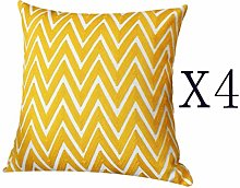Uioy Durable cotton cushion cover, home decoration
