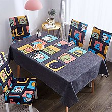 UIQB Tablecloth-3 Sets of 55 * 70 (inch) Fresh and