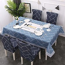 UIQB Tablecloth-5 Sets of 55 * 82 (inch) Fresh and