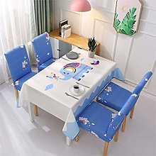 UIQB Tablecloth-7 Sets of 55 * 70 (inch) Fresh and