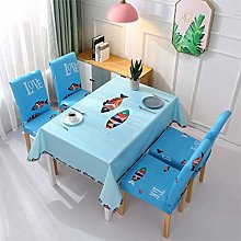 UIQB Tablecloth-7 Sets of 55 * 82 (inch) Fresh and