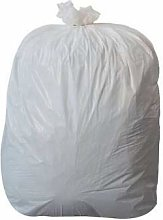 Uk Store 50x Large White Strong Refuse Rubbish