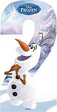 UK1One High Visible Disney Frozen Wheelie Bin
