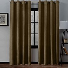 UKAP Blackout Curtain Thermal Insulated Window