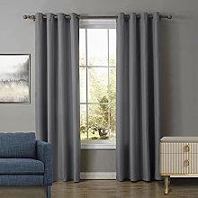 UKAP Window Blackout Curtain Ring Top Thermal