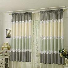 UKAP Window Curtain 2 Panels Bedroom Thermal