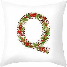 Ukilook Throw Pillow Covers Decorative English