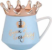 UKKD Mug Crown Theme Milk / Coffee Mugs 300Ml
