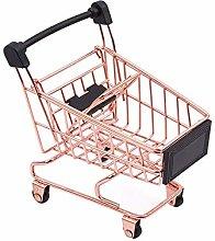 ULILICOO Special Mini Shopping Cart Storage Basket