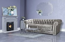 Ulises 3 Seater Chesterfield Sofa Rosdorf Park