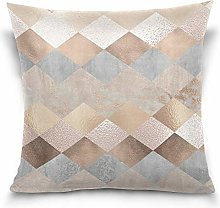 Uliykon Copper And Blush Rose Gold Marble Argyle