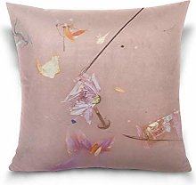 Uliykon Harry Styles - Flowers Throw Pillows