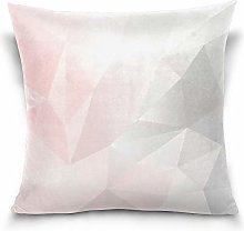Uliykon Pink And Gray Geometric Low Poly