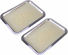 ULTECHNOVO 2pcs Wax Dissecting Tray Dissection Pan