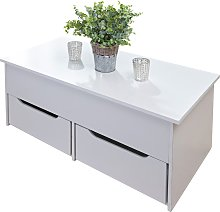Ultimate Storage 2 Drawer Lifting Coffee Table -