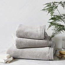 Ultimate Turkish Cotton Bath Towel, Pearl Grey,