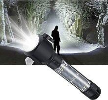Ultra Powerful LED Flashlight with Solar Charging