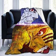 Ultra Soft Sofa Blanket,Anime Boruto Flannel