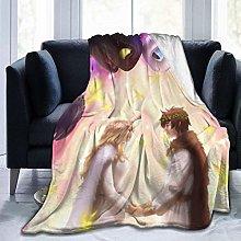 Ultra Soft Sofa Blanket,Light Fury Toothless