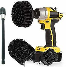 Ultra Stiff Drill Brush Power Scrubber With 6 Inch