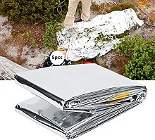 Ultra-Thin Emergency Survival Sleeping Bag, Silver