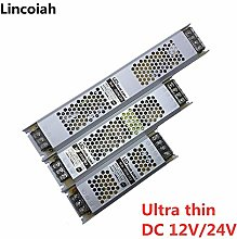 Ultra Thin LED Power Supply DC 12V 24V Lighting