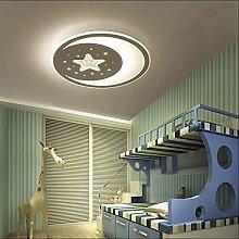 Ultra-Thin Living Room Bedroom LED Stars Moon