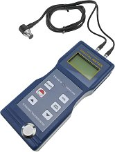 Ultrasonic thickness gauge measuring diagnostic