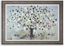 Ulyana Hammond - The Watch Tree (Large) Framed