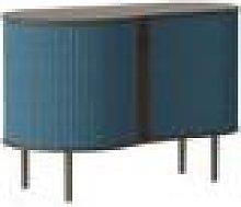 UMAGE - Audacious Cabinet - Dark Oak - Petrol Blue