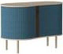 UMAGE - Audacious Cabinet - Oak - Petrol Blue