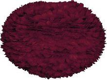 UMAGE - Eos Feather Lamp Shade - Red - Large
