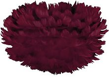 UMAGE - Eos Feather Lamp Shade - Red - Mini