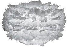 UMAGE - Eos Feather Pendant - Mini - Light Grey -