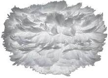 UMAGE - Eos Feather Pendant- Mini - Light Grey -