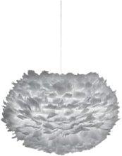 UMAGE - Large Grey Feather Lampshade - Grey