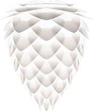 UMAGE - Mini White Conia Pendant Light Shade -