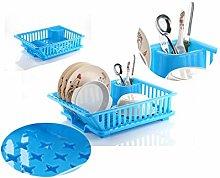 Umax Plastic Kitchen Sink Dish Drainer - Drying