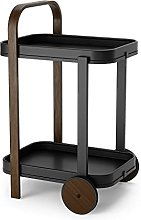 Umbra Bar, Serving Trolley and Side Table with 2