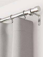 Umbra Cappa Extendable Curtain Pole Kit, Nickel,