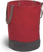Umbra Crunch Round Laundry/Storage Bin, Red