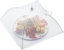Umbrella Food Cover in White KitchenCraft Size: