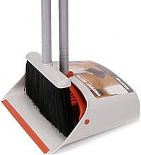 UMI. by Amazon Brush and Dustpan,Long Handled