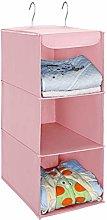 UMI. by Amazon Hanging Storage, 3 Tiers Wardrobe