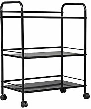 UMI. by Amazon Kitchen Storage Trolley Cart,3 Tier