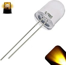 UMTMedia® 10 Pieces 10mm Ultra Bright LEDs