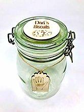 Una Casa Personalised Biscuit Jar - Cookie Jar -