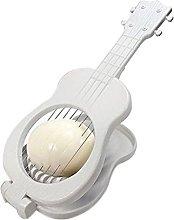 Unbekannt Ukulele Egg Cutter, White